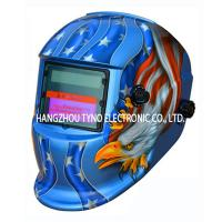 Buy cheap CE Welding Helmet Eagle Design with Auto darkening Filter from wholesalers