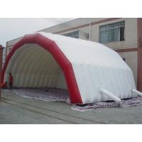 CE White Inflatable party Tent With 3 layers fire retardant 0.55mm PVC Manufactures