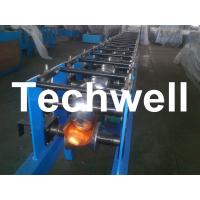 Buy cheap Hydraulic Cutting Plc Control Half Round Gutter Machine For Rainwater Round Gutter from wholesalers