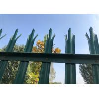 Buy cheap Hgih Strong W D Pale Metal Palisade Fencing Waterproof Short Garden Fence from wholesalers