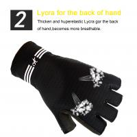 Buy cheap short finger cycling gloves bike cycling gloves new design factory price cycling gloves from wholesalers