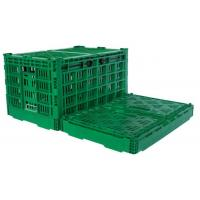 Buy cheap Agriculture Vegetables Fruit Plastic Storage Crate Vented Foldble Turnover Box from wholesalers