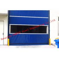 Buy cheap Finished Surface PVC Automatic Industrial Garage Doors Roller Shutter With Visual Window from wholesalers
