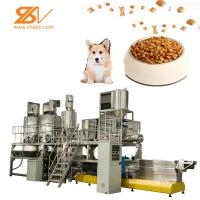 Buy cheap Pet Food Processing Plants Stainless Steel Extruder Machine 250kg/h Capacity from wholesalers