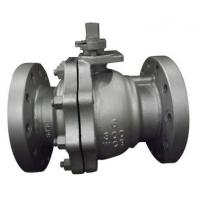 Buy cheap Split Body Floating Type Ball Valve / Full Bore Ball Valve Fireproof Structure from wholesalers