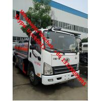 Buy cheap Low Price Customize FAW 6 wheels 5 cbm fuel truck dimensions small 5000 liter jet fuel truck truck aluminum fuel tanks from wholesalers