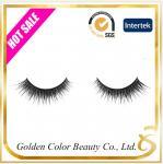 Buy cheap Premium quality wholesale false eyelash 3D Real Mink strip eyelashes eye-lash from wholesalers