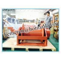 Buy cheap custom built 1-80 ton free fall hydraulic winch for piling rig from wholesalers