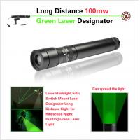 Buy cheap Long Distance 100mw Green Laser Sight Tactical Flashlight Laser Lightweight from wholesalers