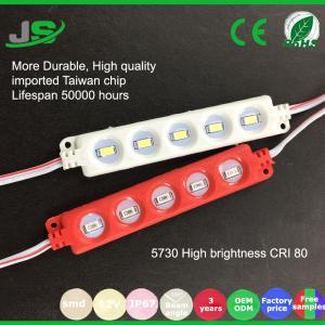 China China Manufacturer 5Chips Led Module SMD5730 High Lumen Led Sign Module on sale