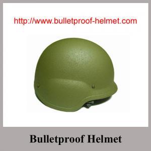 NIJ IIIA Aramid Army Green Olive Green PASGT Bulletproof Helmet