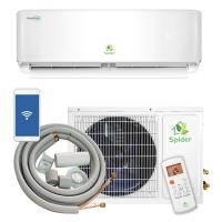 China Brushless 12000 BTU Split Air Conditioner Eco Friendly Refrigerant White Color on sale