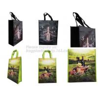Wholesale welcome fast delivery full color printing Elephant PET PP non woven bag for small quantity order, laminated pp non woven from china suppliers