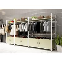 Buy cheap Wood Landing Clothing Display Showcase Multi Functional Customized Color from wholesalers