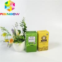 Buy cheap Customized eye cream skin care packaging cosmetic box white paper vegetable oil emulsion packaging foldable display box from wholesalers