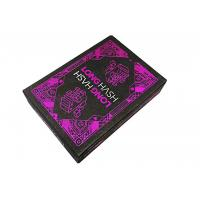Buy cheap 310gsm import Black Core Material Cards CMYK Color Printing , Design Picture,Company Logo from wholesalers