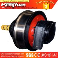 Buy cheap Chinese manufacture forged overhead travelling bridge crane wheels from wholesalers