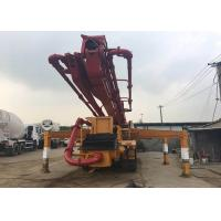 Buy cheap 2012 Year Used 42m Truck Mounted Concrete Pump Volvo Chassis Diesel Power Type from wholesalers