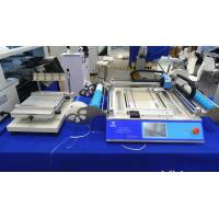 Buy cheap High accuracy SMT Stencil printer 3040 + CHMT48VB smt pick and place machine from wholesalers