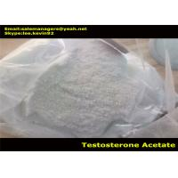 Buy cheap Healthy Testosterone Acetate Powder / Test Ac Cas 1045-69-8 For Bodybuilder from wholesalers