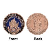 Buy cheap Phoenix Police Department Fancy Guard Commemorative Coins Round from wholesalers