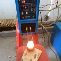 Buy cheap Mini Induction Heating Melting Furnace 1-2kg for Gold Silver Copper Smelting from wholesalers