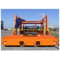 Buy cheap 3 axles Hydraulic system car carrier truck trailer / Semi Car Hauler Trailer Enclosed from wholesalers