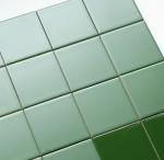 Buy cheap Multi Specification Glazed Ceramic Wall Tiles Bathroom Decor Dark Green Design from wholesalers