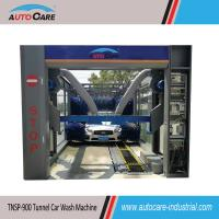 Buy cheap Fully Automatic Tunnel Car Washing Machine for sales to Pakistan/ Automated Car Washer with Platform Belt Conveyor from wholesalers
