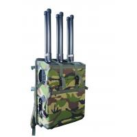 Buy cheap 6 Channels High Power Backpack Cell Phone Jammer 2G.3G .4G .LOJACK.VIP Protection Military Quality(Professional) from wholesalers