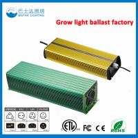 Buy cheap High Pressure Sodium Usage Electronic Ballast/1000W HPS Electronic ballast from wholesalers