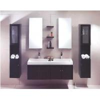 Buy cheap New Style Double Washing Basin Bathroom Cabinet 9009 from wholesalers