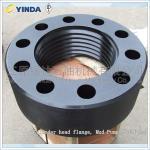 Buy cheap Cylinder Head Flange Mud Pump Fluid End AH36001-05.02 45 Steel Forging from wholesalers