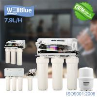 Buy cheap Household Reverse Osmosis Water Filtration System With 3.2G Storage Tank from wholesalers