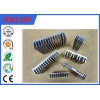 Buy cheap 6000 Series Industrial Aluminium Profiles for Extruded Aluminum Heatsink Stock 40 X 12 mm Size from wholesalers