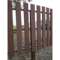 Natural Wooden Look WPC Decking Strong WPC Rail Fence For Farm Manufactures