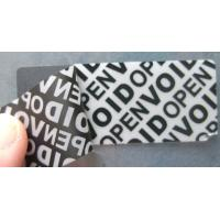 Buy cheap Anti - Counterfeiting Warranty Void Sticker Labels With Double Coated Paper from wholesalers