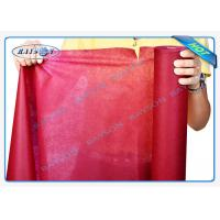 Buy cheap Environmental Friendly 1.2m or 1.4m Precut PP Non Woven Tablecloth in Pantone Color from wholesalers