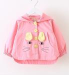 Buy cheap Fashion childern jacket cute cartoon pattern warm small coat for kid winter wear from wholesalers