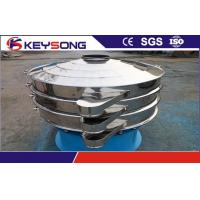 Buy cheap Vibratory sieve Bread Crumb Machine stainless steel with round type from wholesalers