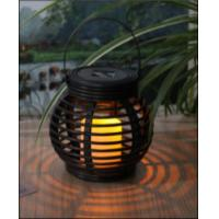 Buy cheap Customized Size Solar Garden Lights , Solar Mini Rattan Basket Round from wholesalers