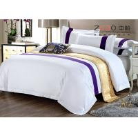 High Grade White Hotel Bedding Collection , Hotel Collection Comforter Sets King Size