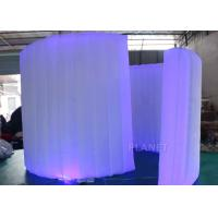 Buy cheap Display Inflatable Photo Booth Wall 9.82 Ft Length AC 110 / 220 V Supply Voltage from wholesalers