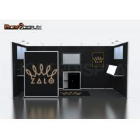 Buy cheap 20×10 Ft Modular Trade Show Booth , Custom Exhibition Stand Design For Advertising from wholesalers