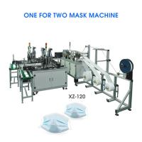 Buy cheap Automatic Nonwoven Mask Making Machine,Flat Mask Inner Ear face mask production line Se-automatic mask machine from wholesalers
