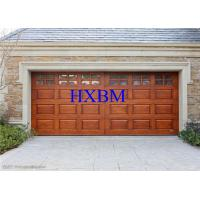 Buy cheap Motor Driving Safety Insulated Roller Garage Doors With Wooden Finish from wholesalers