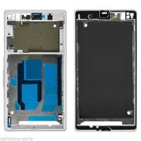 Wholesale Front Frame Cover Housing for Sony Xperia Z1, L39, C6902, C6903, C6943 White from china suppliers