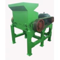 Wholesale Rubber Block Tyre Crushing Machine 900 R/M Speed With Steel Knife from china suppliers