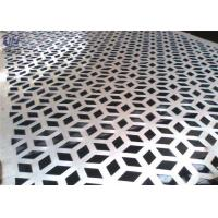 Wholesale Decorative Perforated Metal Mesh Screen Plain Weave 1.22x2.44m Size from china suppliers