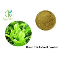 Buy cheap 100% Pure Green Tea Extract Powder Anti - Bacteria For Cosmetics / Food from wholesalers